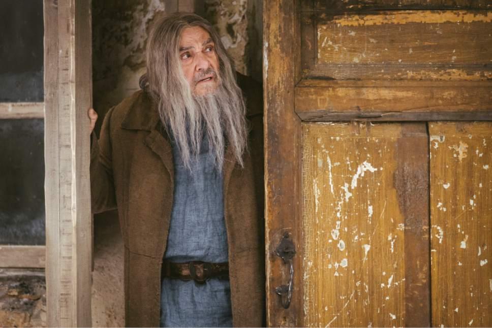 "John Rhys-Davies stars in ""Winter Thaw."" Lukas Salina     BYUtv"