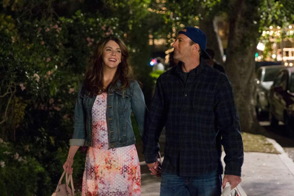"Lauren Graham and Scott Patterson star in ""Gilmore Girls: A Year in the Life."" Saeed Adyani  