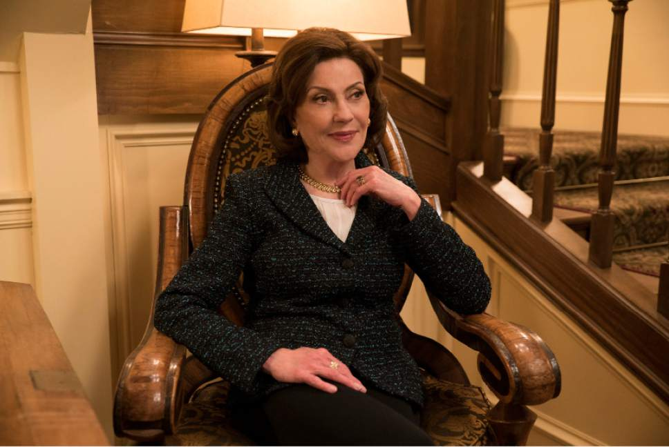 Kelly Bishop as Emily Gilmore in ìGilmore Girls: A Year in the Life.î Saeed Adyani  |  Netflix