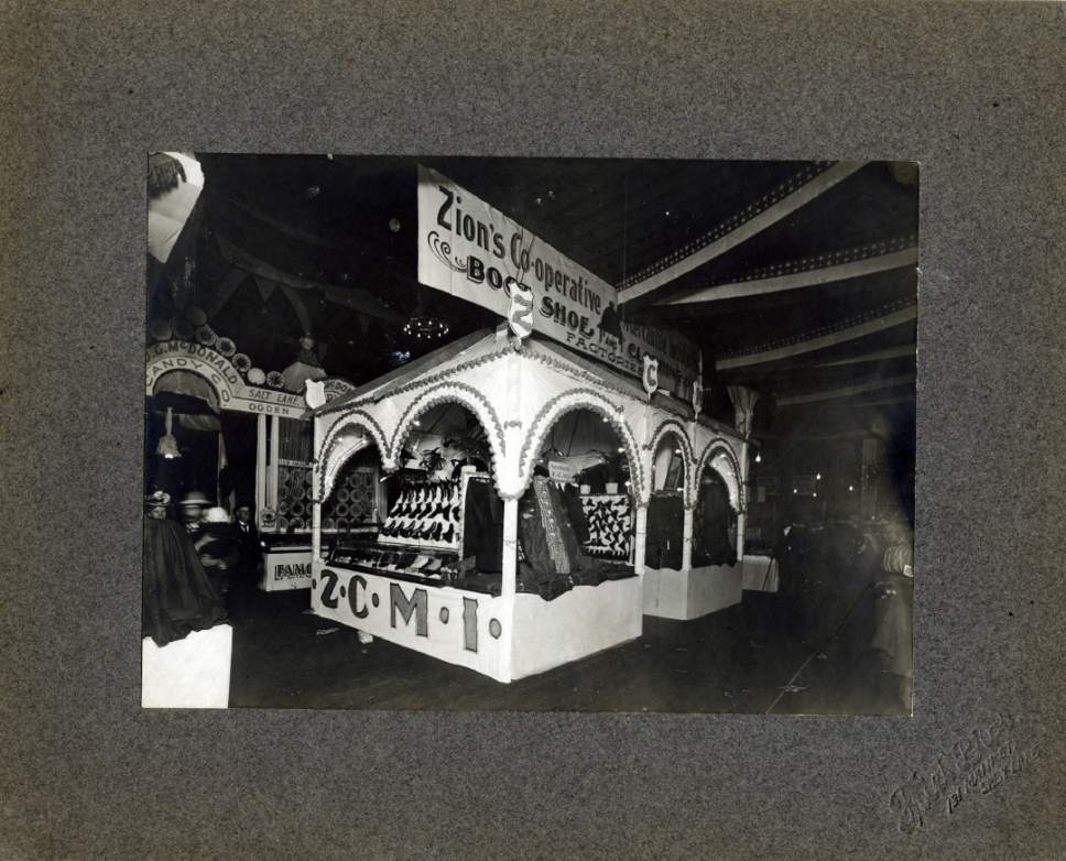 Tribune file photo  A ZCMI display is seen at the Utah State Fair in this undated photo.