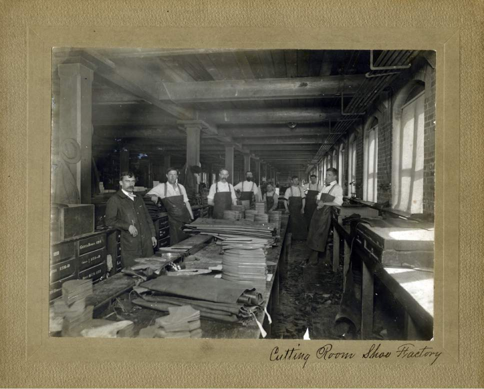 Tribune file photo  Workers are seen at the ZCMI factory in this photo believed to be from August, 1899.