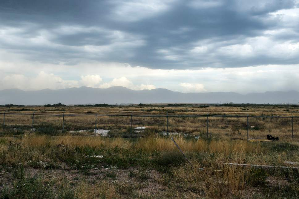 Chris Detrick     Tribune file photo  The new Utah state prison will be built on land near 7200 West and I-80 in Salt Lake City, shown here on Tuesday August 11, 2015. Utah faces the challenge of developing both the new and old prison sites at the same time.