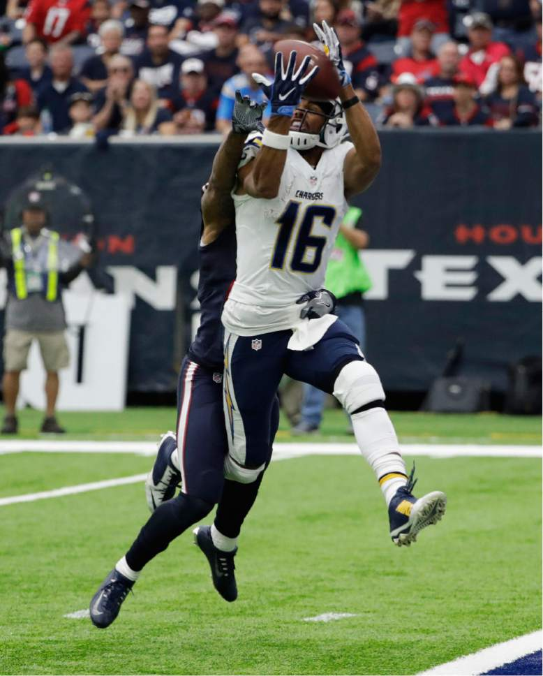 San Diego Chargers First Game: NFL: Rivers Tosses 3 TDs To Help Chargers Over Texans 21