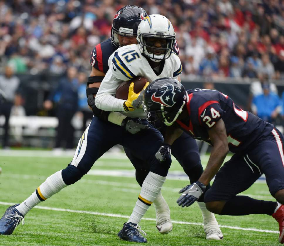San Diego Chargers Cornerbacks: NFL: Rivers Tosses 3 TDs To Help Chargers Over Texans 21