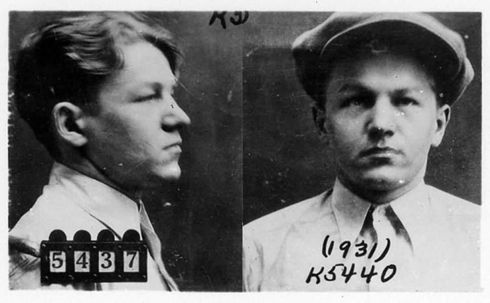 Lester Gillis, aka Baby Face Nelson.  Courtesy photo