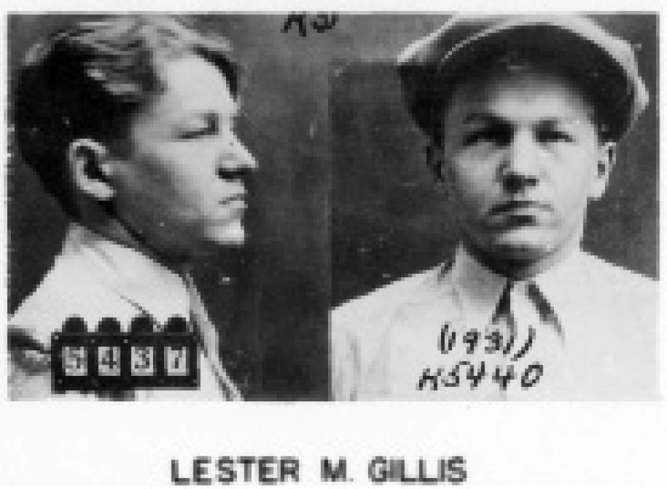 """Photo of George """"Baby Face"""" Nelson obtained by the FBI from a police station to use for dissemination of fugitive information. Nelson's real name was Lester Gillis. (AP Photo/FBI)"""