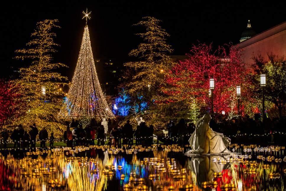 christmas lights downtown dayton
