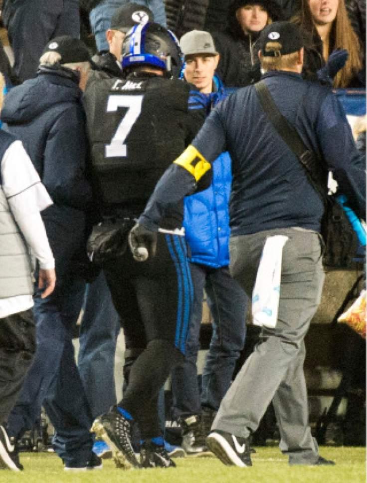BYU quarterback Hill suffers fourth season-ending injury ...