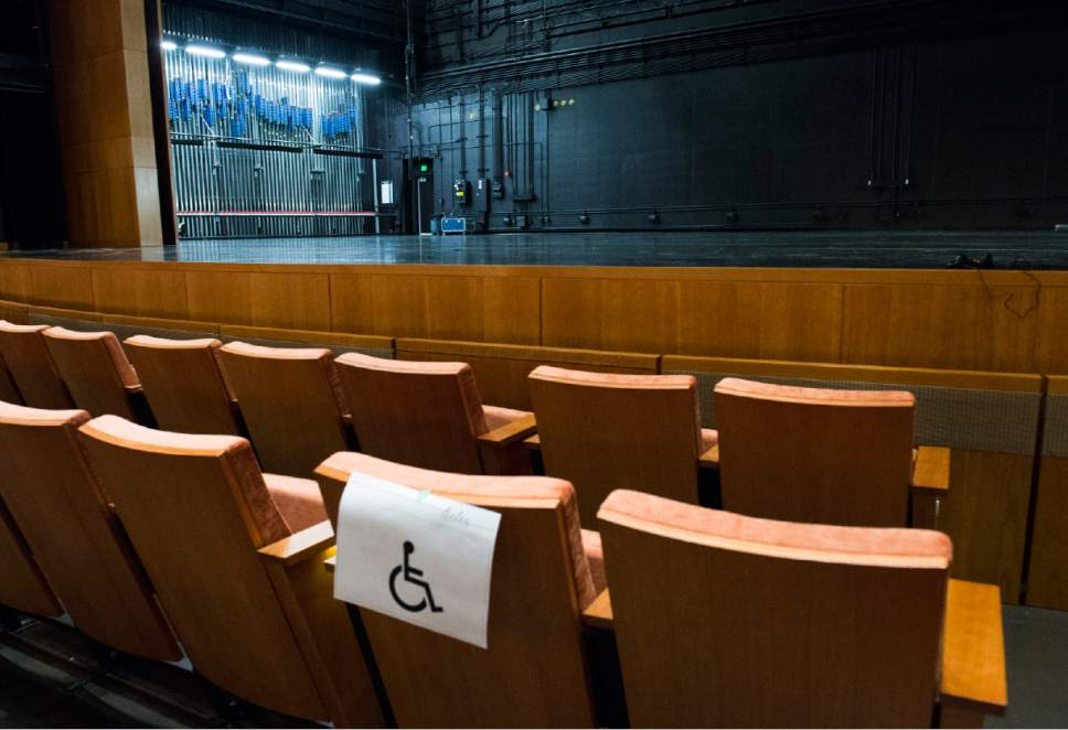 Officials say Eccles Theater designed with disabled patrons in mind ...
