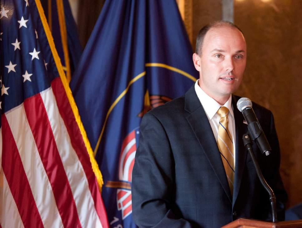 Spencer J. Cox • Utah Lt. Gov.