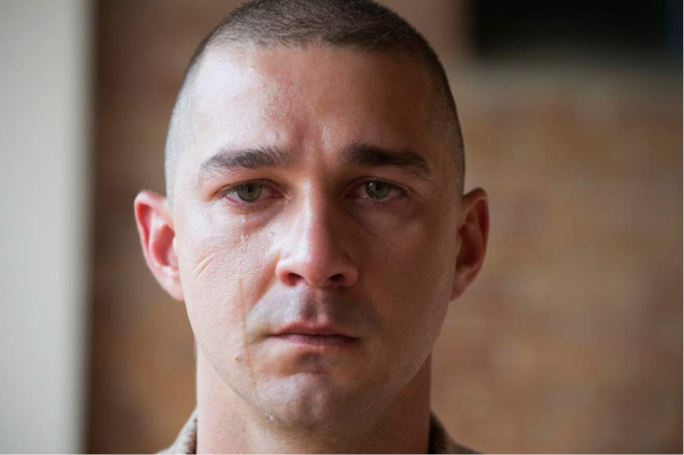 "This image released by Lionsgate shows Shia LaBeouf in the film, ""Man Down."" (Lionsgate via AP)"