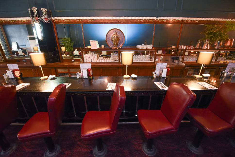 Francisco Kjolseth | The Salt Lake Tribune Lamb's Grill, has been struggling fnancially since it lost its liquor license in October. On Tuesday, was fined $9,000  for failing to  tell the Utah Department of Alcoholic Beverage Control that it had new ownership.