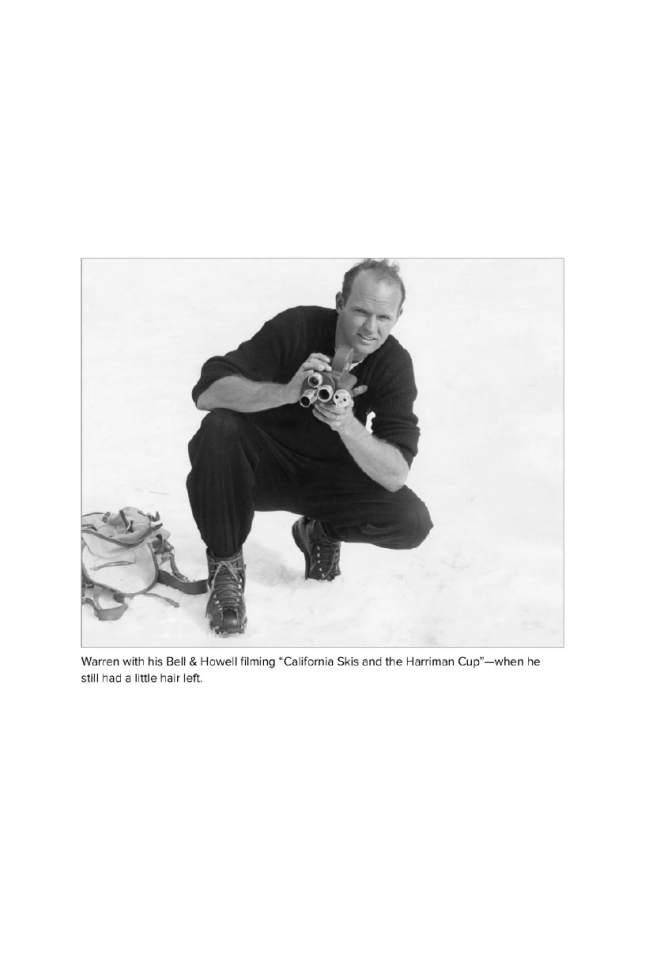 Warren Miller. Courtesy     Warren Miller Enertertainment