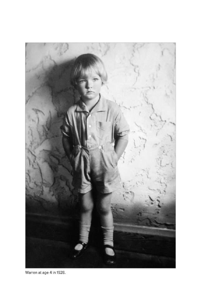 Warren Miller at age 4 in 1928. Courtesy     Warren Miller Enertertainment