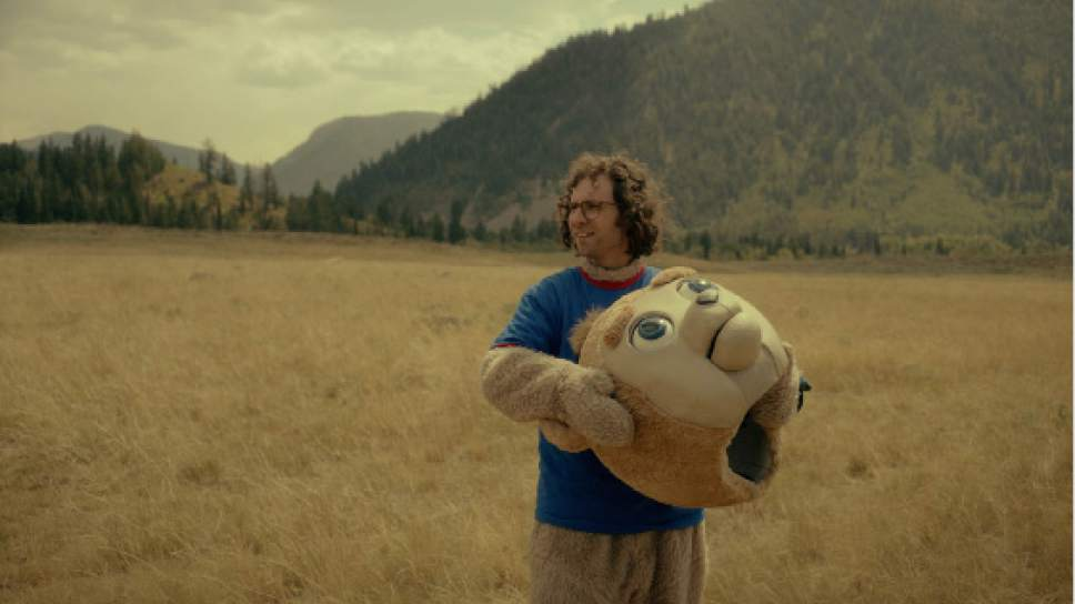 "Christian Sprenger  |  Courtesy of Sundance Institute Kyle Mooney stars as James, who discovers his favorite children's TV show has stopped production, in the comedy ""Brigsby Bear,"" directed by Dave McCary. The movie, filmed in the Salt Lake City area, will screen in the U.S. Dramatic competition of the 2017 Sundance Film Festival."
