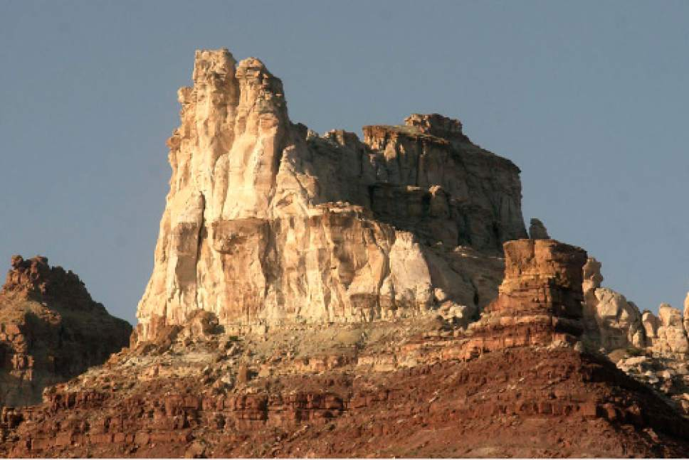 |  Tribune File Photo  Temple Mountain San Rafael Swell north of Hanksville, June 9, 2005.