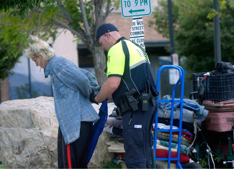 Al Hartmann     Tribune file photo Salt Lake City Police check identifications and make arrests as part of Operation Diversion -- a joint county-city effort this fall aimed at locking up drug dealers and diverting addicts into treatment.