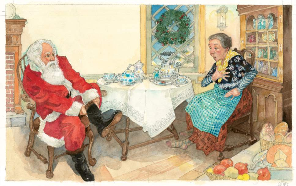 "|  Courtesy  New this holiday season, ""The Christmas Boot"" by Lisa Wheeler and illustrated by Jerry Pinkney."