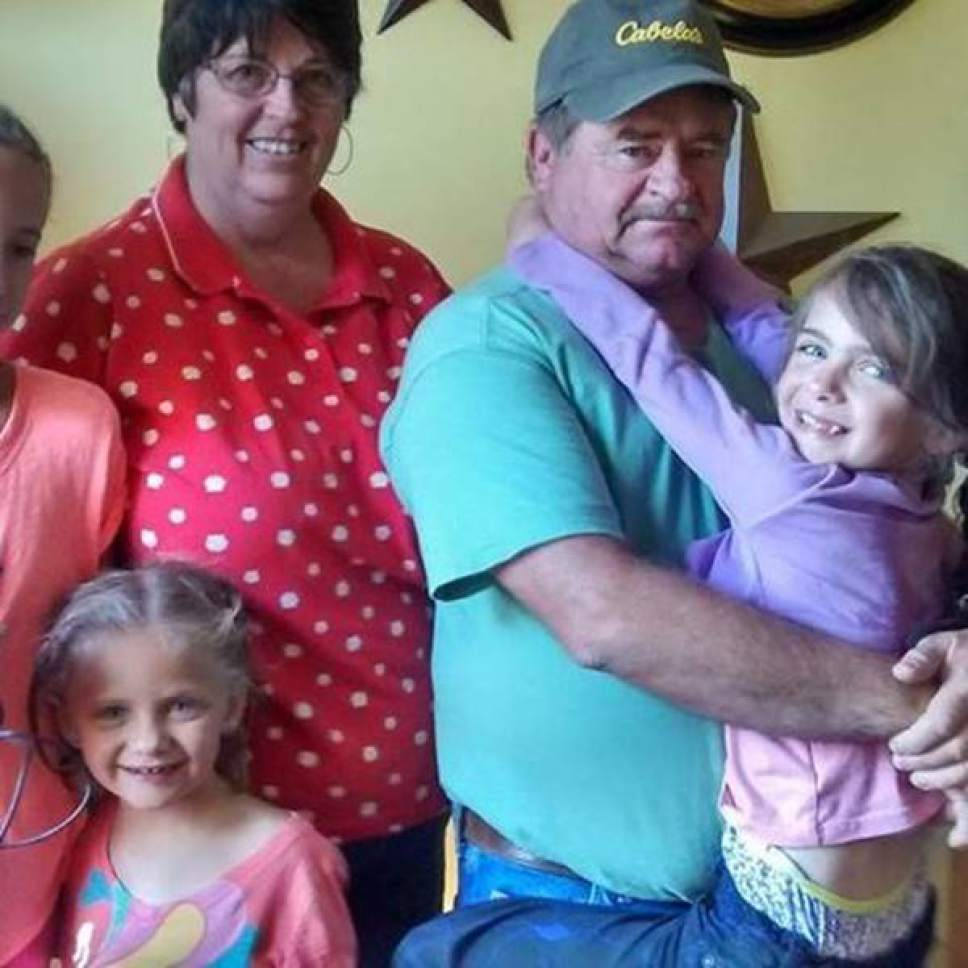 Photo courtesy of Sena Spencer  Pictured is Jimmy Woolsey and his family