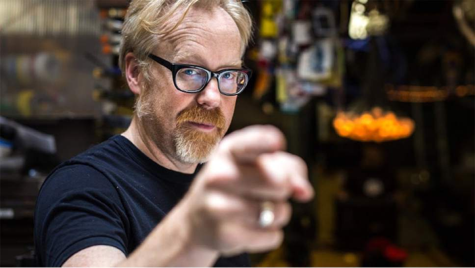 Adam Savage will appear for a Park City Institute performance on Saturday. Courtesy Discovery Channel