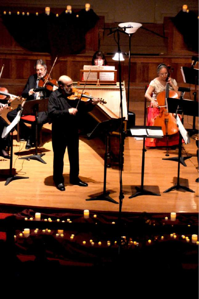 Courtesy photo  Vivaldi by Candlelight concert.