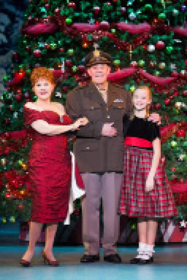 courtesy photo the cast of the broadway touring show irving berlins white christmas - Cast Of White Christmas
