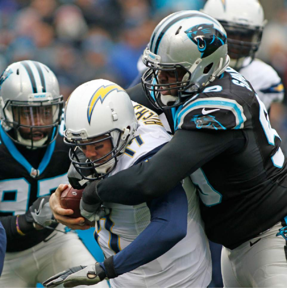 San Diego Chargers First Game: NFL: Panthers Force 5 Turnovers, Beat Chargers 28-16