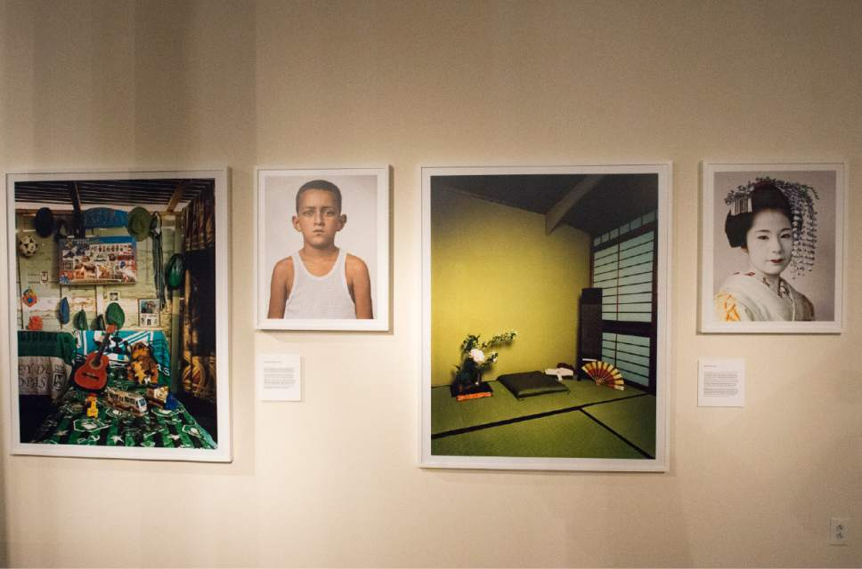 """Rick Egan     The Salt Lake Tribune  The newest exhibit at The Leonardo museum in Salt Lake City, titled """"Where Children Sleep,"""" examines class, race, hunger, education and a host of issues, all through the lens of a child's bedroom."""