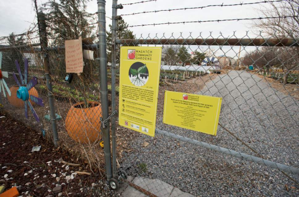 Steve Griffin  |  The Salt Lake Tribune Wasatch Community Gardens at 648 west 100 south is one of the four new locations for proposed homeless shelters in Salt Lake City Tuesday December 13, 2016.