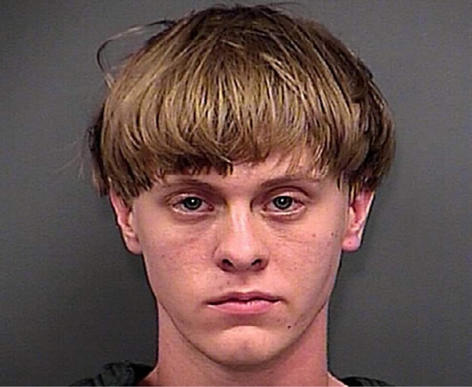 FILE - This June 18, 2015, file photo, provided by the Charleston County Sheriff's Office shows Dylann Roof. Roof was convicted Thursday, Dec. 15, 2016, in the chilling attack on nine black church members who were shot to death last year during a Bible study, affirming the prosecution's portrayal of a young white man who hoped the slayings would start a race war or bring back segregation. (Charleston County Sheriff's Office via AP, File)