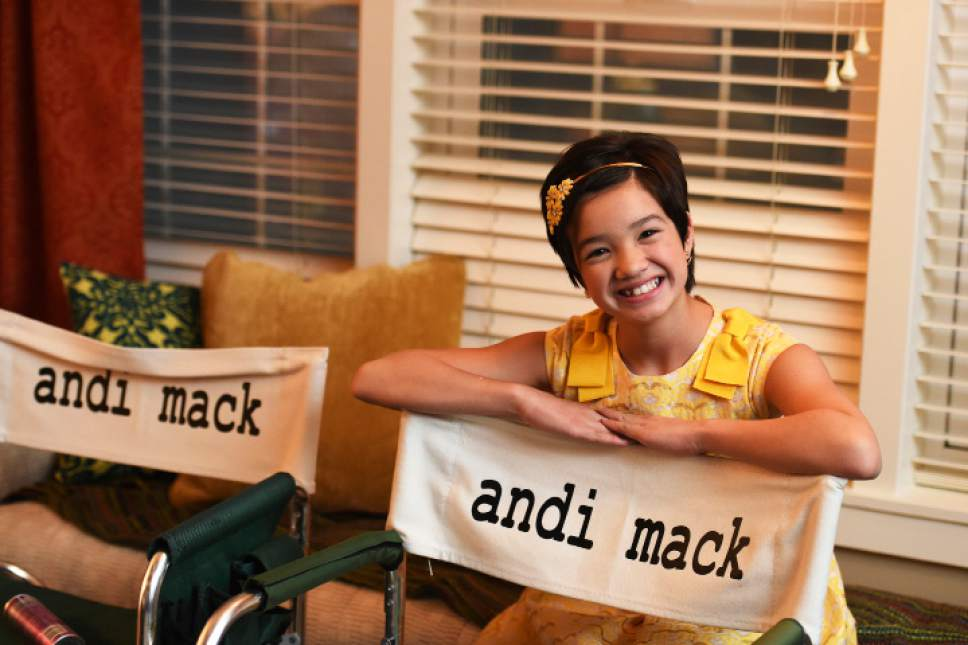 "Peyton Elizabeth Lee stars as the title character in ""Andi Mack,"" which is being produced in Utah. Fred Hayes  