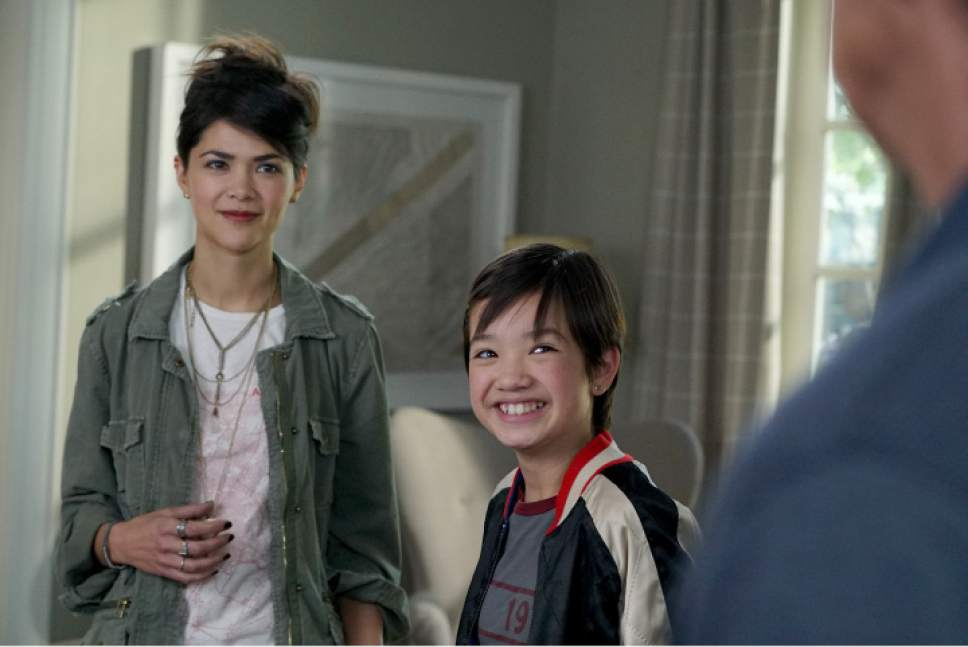 "Joshua Rush, Asher Angel, Peyton Elizabeth Lee and Lilan Bowden star in ""Andi Mack,"" which is being produced in Utah. Fred Hayes  