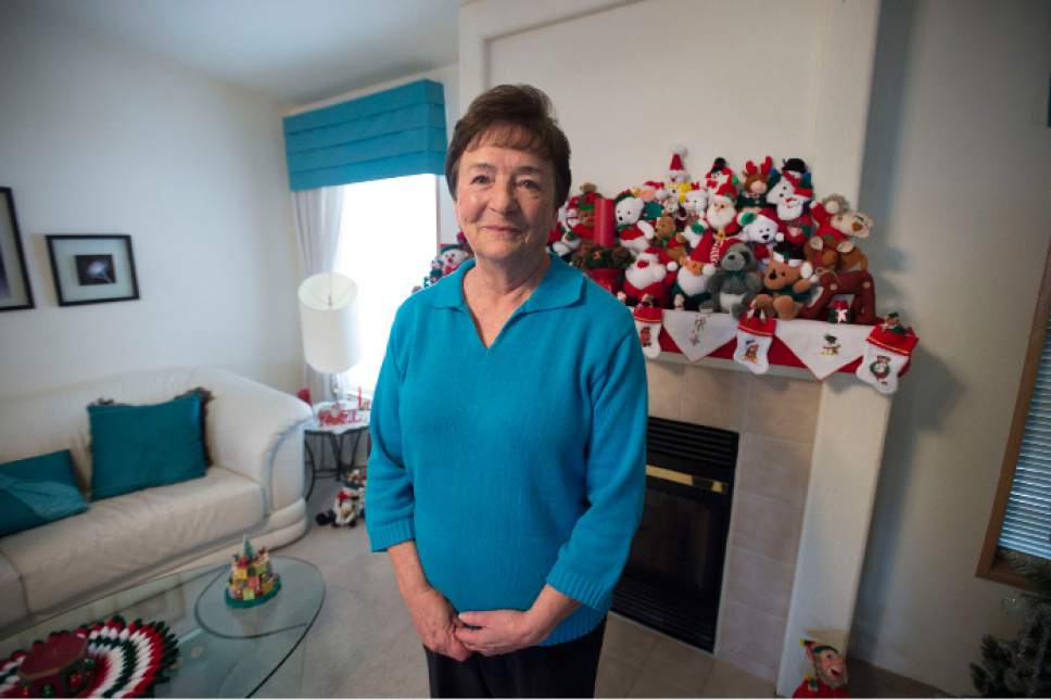 Steve Griffin  |  The Salt Lake Tribune Shirlene Stoven, 80, at her residence at the Applewood Mobile Home park in Midvale on Friday, Dec. 9, 2016. Manufactured-home residents in Utah remain vulnerable to exploitation by park owners as highlighted by a recent legislative study.