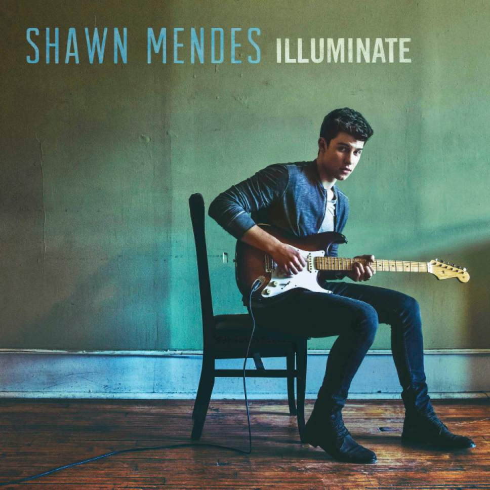"This image released by Island Records shows ""Illuminate,"" by Shawn Mendes. (Island Records via AP)"