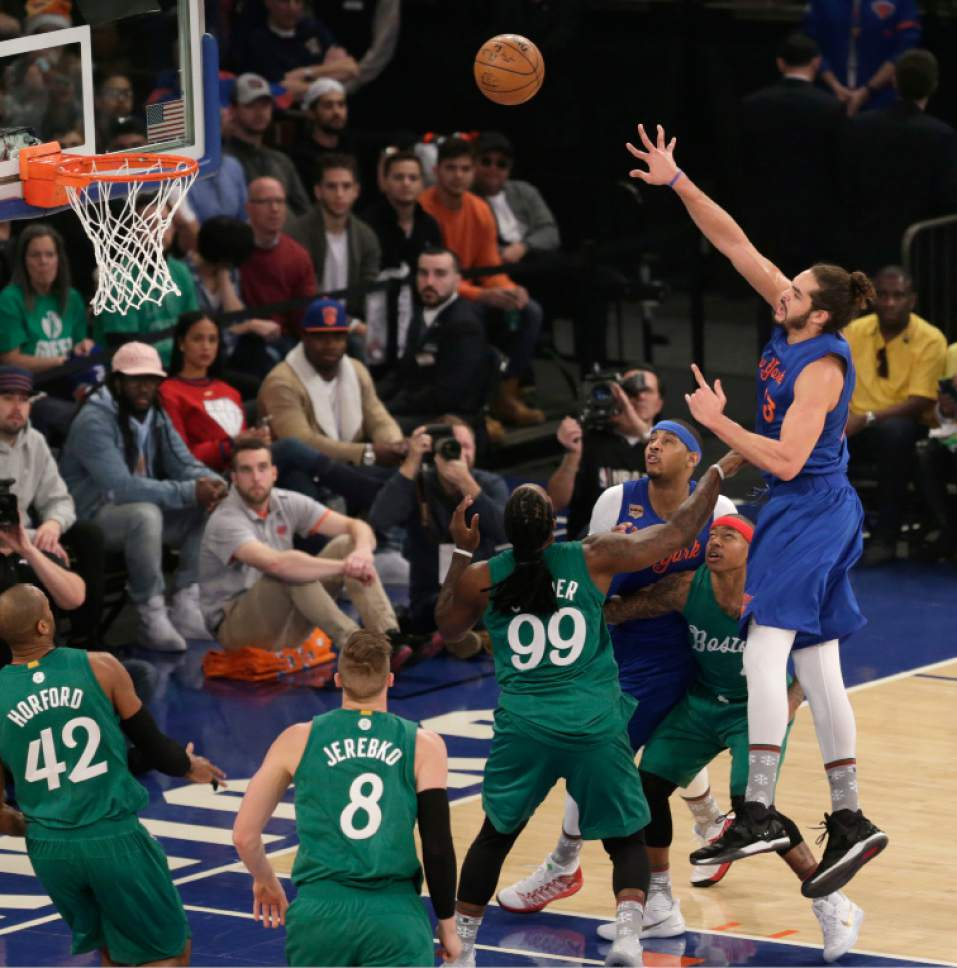 NBA: Celtics Recover After Late Knicks Rally, Win 119-114