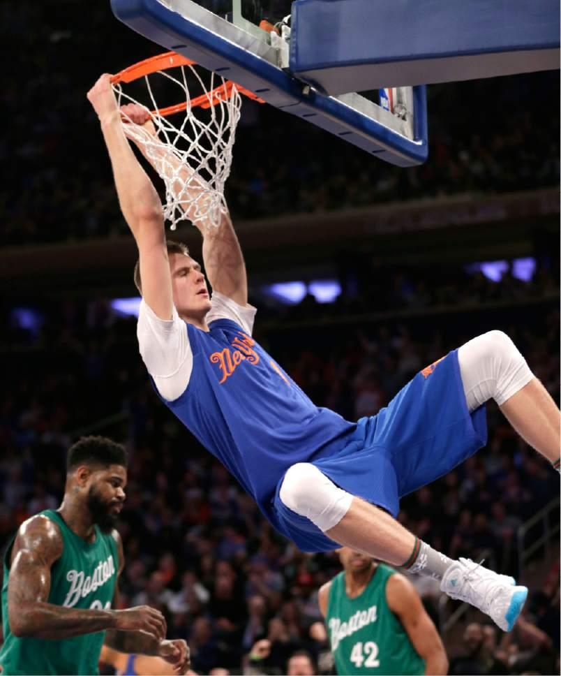 Nba Basketball New York Knicks: NBA: Celtics Recover After Late Knicks Rally, Win 119-114