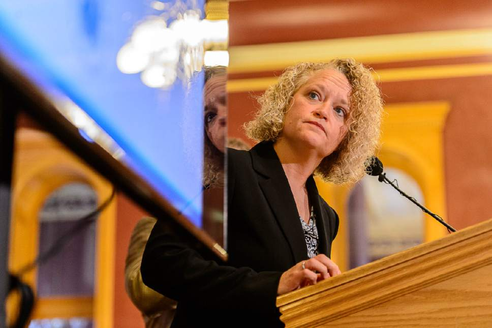 Trent Nelson  |  Tribune file photo Salt Lake City Mayor Jackie Biskupski on Tuesday, Dec. 13, announced sites of four planned homeless shelters.
