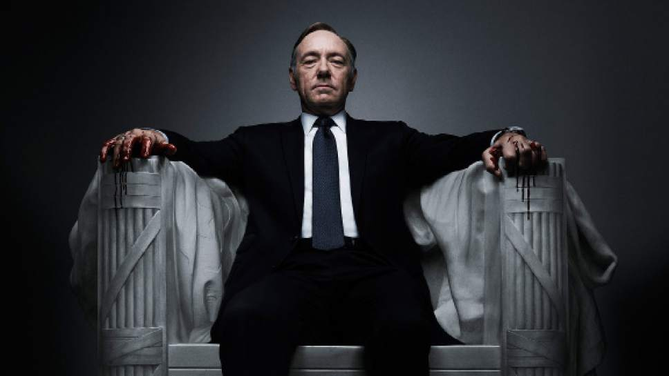 "Kevin Spacey stars in ""House of Cards."" Courtesy  