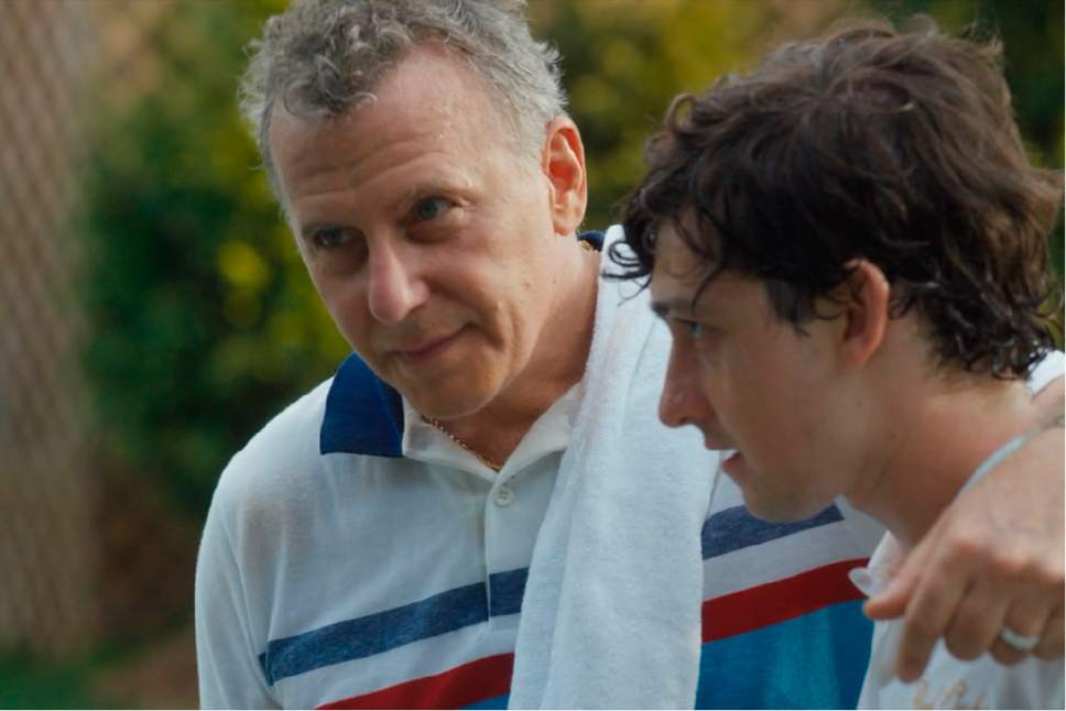 "Paul Reiser and Craig Roberts star in the Amazon Prime series ""Red Oaks."" Courtesy  