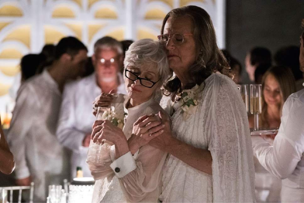 "Judith Light as Shelly and Jeffrey Tambor as Maura in ""Transparent."" Courtesy  