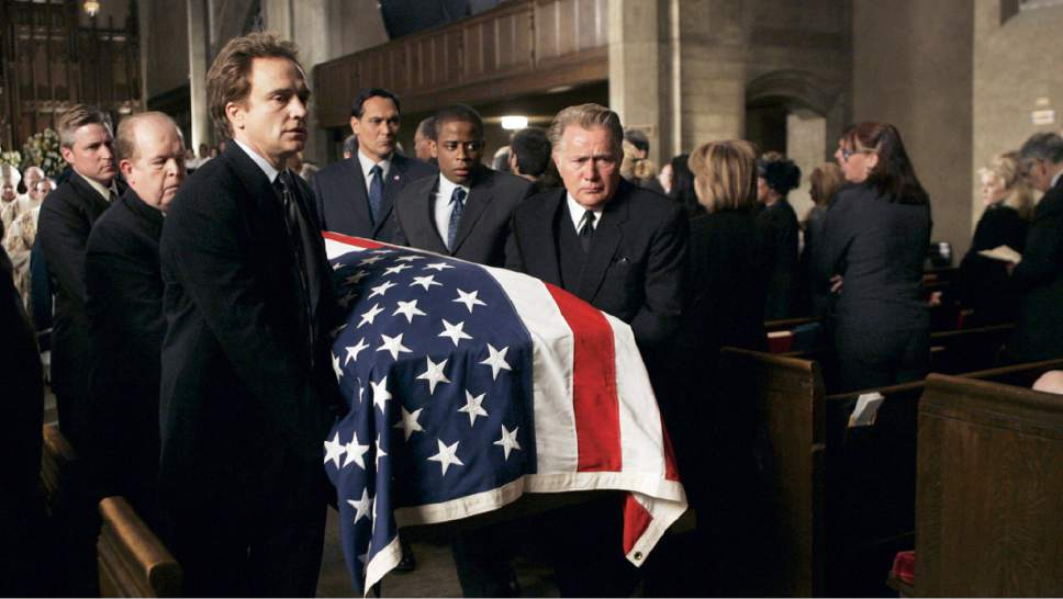 """The West Wing"" mourned the death of Vice President-elect Leo McGarry and the actor who played him, John Spencer, shortly before the end of series. Courtesy NBC"