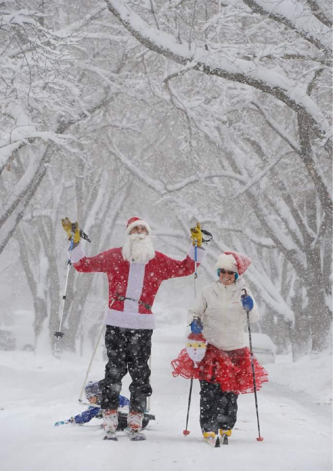 Utah weather: Snowiest Christmas in 100 years - The Salt Lake Tribune