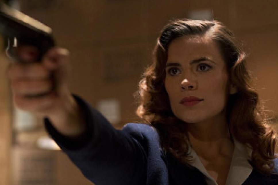 """Marvel's Agent Carter,"" stars ""Captain America's"" Hayley Atwell as Peggy Carter. Courtesy Marvel / Katrin Marchinowski"