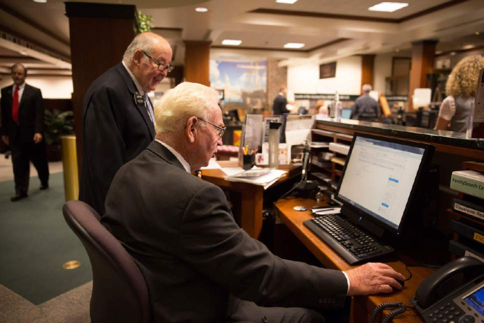 Courtesy  |  LDS Newsroom  The Family and Church History Headquarters Mission is comprised of service missionaries, full-time missionaries, senior couples and single sister missionaries.