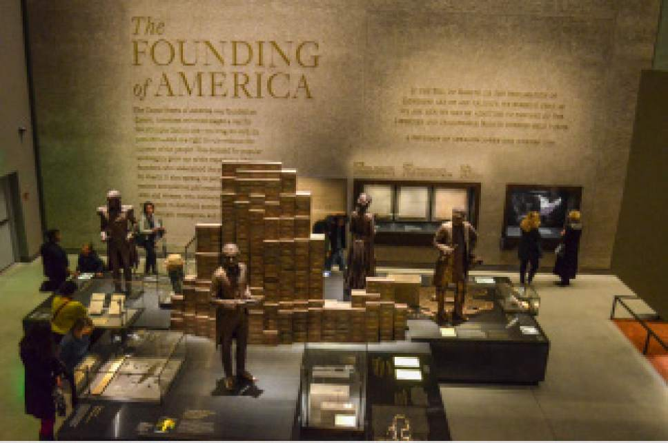 photo courtesy LDS Church  Inside the National Museum of African American History and Culture in Washington, D.C.
