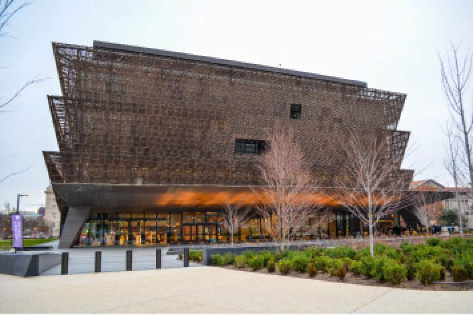 photo courtesy LDS Church  The National Museum of African American History and Culture in Washington, D.C.