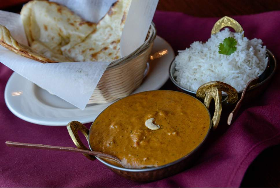 Francisco Kjolseth | The Salt Lake Tribune  Everest Curry Kitchen in Sandy offers a tender and succulent lamb korma alongside an order of butter naan.