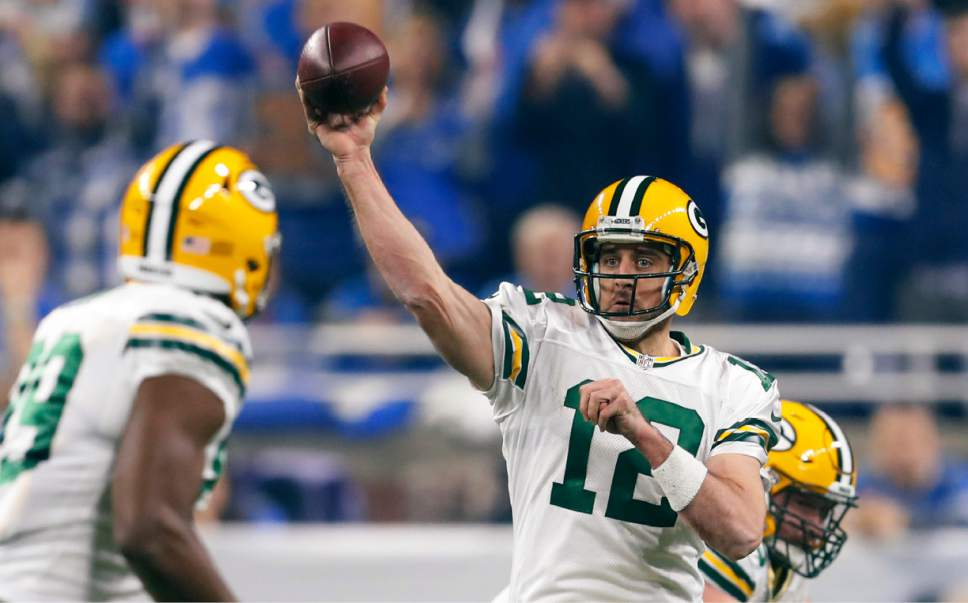 Nfl Rodgers Led Packers Beat Lions 31 24 To Win Nfc North The Salt Lake Tribune