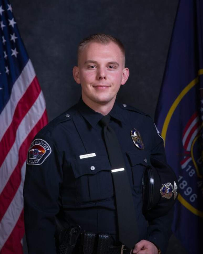 West Valley City Police Officer Cody Brotherson. Photo courtesy West Valley City Police.