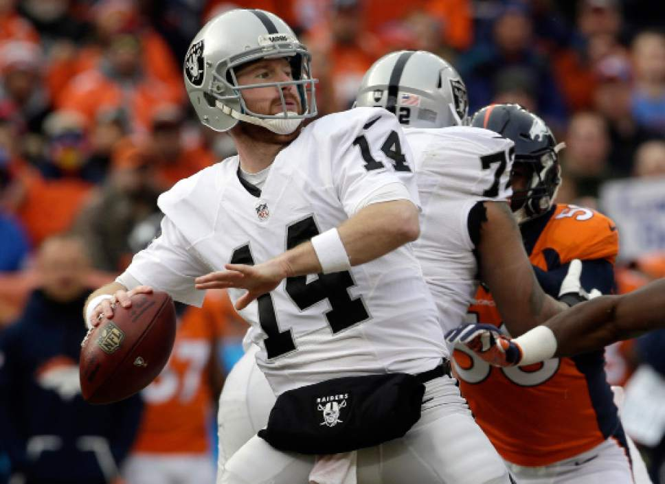 Nfl Raiders Rely On Undrafted Players To Get To Playoffs